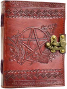 Azure Green BBBLP449 Pentagram leather with latch