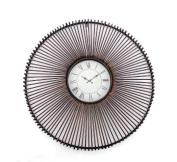 Teton Home WD-042 Metal Wall Clock - Pack of 2