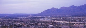 Panoramic Images PPI127381L Aerial view of a city Tucson Pima County Arizona USA Poster Print by Panoramic Images - 36 x 12