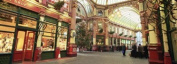 Panoramic Images PPI95025L Interiors of a market Leadenhall Market London England Poster Print by Panoramic Images - 36 x 12