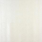 Designer Fabrics G017 140cm . Wide White Emu Ostrich Faux Leather Vinyl
