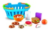 Learning Resources New Sprouts Lunch Basket Play Food Set