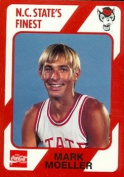 Mark Moeller Basketball Card (N.C. North Carolina State) 1989 Collegiate Collection No.146