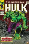 Hot Stuff Enterprise Z183-24x36-NA The Incredible Hulk Comic Poster 24 x 36