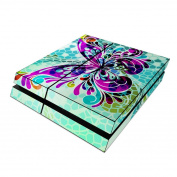 DecalGirl PS4-BFLYGLASS Sony PS4 Skin - Butterfly Glass