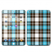 DecalGirl IPDMR-PLAID-TUR Apple iPad Mini Retina Skin - Turquoise Plaid