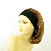 univers perruque Headband Wig Woman Mid-length Blond Copper Wick Clear Ref
