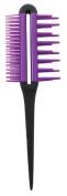 Upper Canada Soap Studio Dry Dual Detangler Comb, Purple