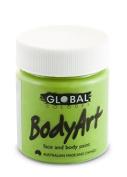 Global Body Art Face Paint - Liquid Green Light 45mL
