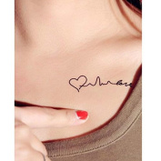 Beauty Products Temporary Tattoo Tatoo for Man Women Waterproof Stickers Make up Heart Tattoo