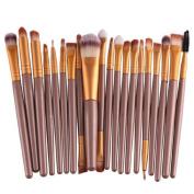 ABC® 20pcs/set Makeup Brush Set tools Make-up Toiletry Kit Wool Make Up Brush Set