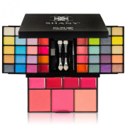 SHANY 'Fix Me Up' Makeup Kit- Eye Shadows, Lip Colours, Blushes, and Applicators