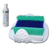 FootMate Shower Foot Scrubber & Rejuvenating Gel System - Exclusive Colour