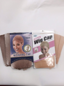 Blonde Wig Caps & Mesh Caps Kit. 6pcs Blonde Wig Cap & 3 Blonde Mesh Caps for Wigs.