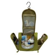 Portable Toiletry Bag for Women Makeup or Men Shaving Kit with Hanging Hook