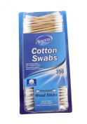Amoray Wood Stick Cotton Swabs 1 Box - 350 Count