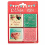 Christian Art Gifts 362123 Magnet - Life Is Beautiful