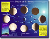 CARSON DELLOSA CD-5858 CHARTLET PHASES OF THE MOON