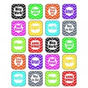 Teacher Created Resources TCR5532 Chevron Stickers
