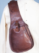 Scully 535006-BRN-ONE Mens Wah Maker Classic Saddle Bag Brown - One Size