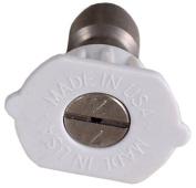 Mi-T-M AW-0018-0031 4.0 Orifice High Pressure Nozzle 40 Degrees White