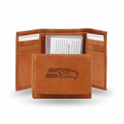 Rico Industries STR2901 Rico - NFL Embossed Trifold Wallet Seattle Seahawks