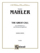 Alfred 00-K06884 Mahler Symphony 2 Chorus Parts Book