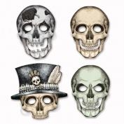 Beistle Company 01852 Skeleton Masks - Pack of 12