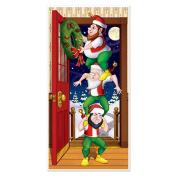 Beistle 20009 Christmas Elves Door Cover Pack Of 12