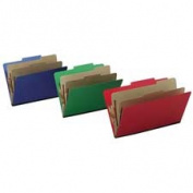 Acco Brands- Inc. ACC15663 Top-Tab Folders- w- Fasteners- 7.6cm . Exp- Letter- Blue