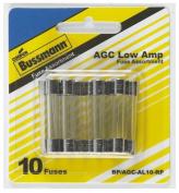 Cooper Bussmann BP-AGC-AL10-RP Low Amp Fuse Assortment - 10 Piece Pack Of 5