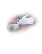 B & H Publishing Group 430783 Gloves White Cotton Medium