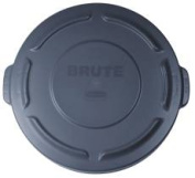 Rubbermaid Commercial Products Rcp261960Gy Brute Lid For Brute Container Grey-Pack of 4