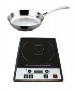 BergHOFF 2211631 Tronic Power Induction Stove With Stainless Steel Fry Pan