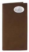 ZeppelinProducts FSU-IWT4-CRZH-LBR FSU Secretary Crazyhorse Leather Wallet