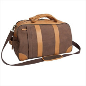 Canyon Outback Leather CT308D 50cm . Stilson Canyon Leather and Canvas Rolling Duffel Bag Brown