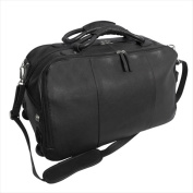 Canyon Outback Leather D310 50cm . Wildcat Canyon Rolling Leather Duffel Bag Black