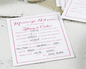 Hortense b Hewitt 35706P Personalised Marriage Advice Cards