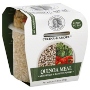 Cucina & Amore Quinoa Meal Artichokes & Roasted Peppers 220ml Case Of 6