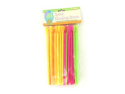 Spoon drinking straws - Case of 72