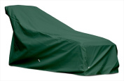 KoverRoos 63250 Weathermax Large Chaise Cover Forest Green - 82 L x 30 W x 32 H in.