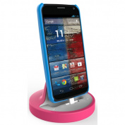 RND Accessories Dock For Moto X And Moto G - White And Pink