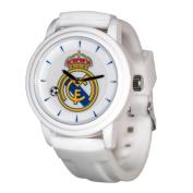 Real Madrid RM40-W Soccer Club Pro-Line Souvenir Watch White