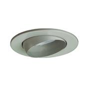 Jesco Lighting TM5513ST Line Voltage Adjustable Eyeball Trim 13cm . Satin Chrome Finish