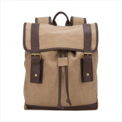 World Traveller 673226 39cm . The Riverside Collection Canvas Laptop Backpack with Tablet Pocket