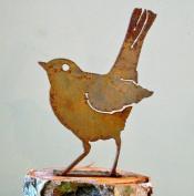 Elegant Garden Design ELEGANTB715 Baby Robin Bird Silhouette