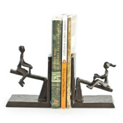 Danya B. ZI13023 See-Saw Metal Bookend Set