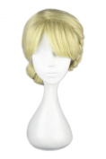 Xcoser Queen Party Elsa Wig Hair Flaxen Hair Style For Coaplay Accessories