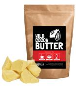 Raw Organic Cocoa Butter, Wild Cocoa Butter, 100% Organic, Single-Origin, Unrefined, Non-Deodorised, Food Grade