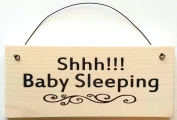 Shhh!!! Baby Sleeping sign